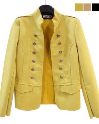 blazer colore giallo