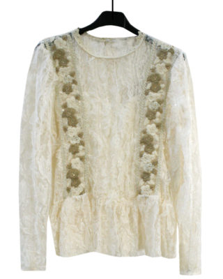 BLUSA IN PIZZO