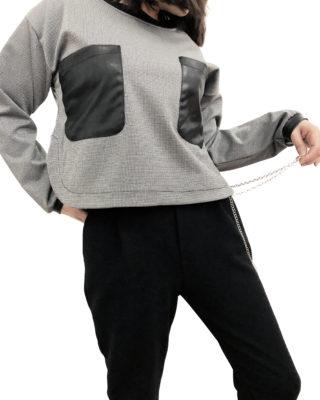pantalone con catena